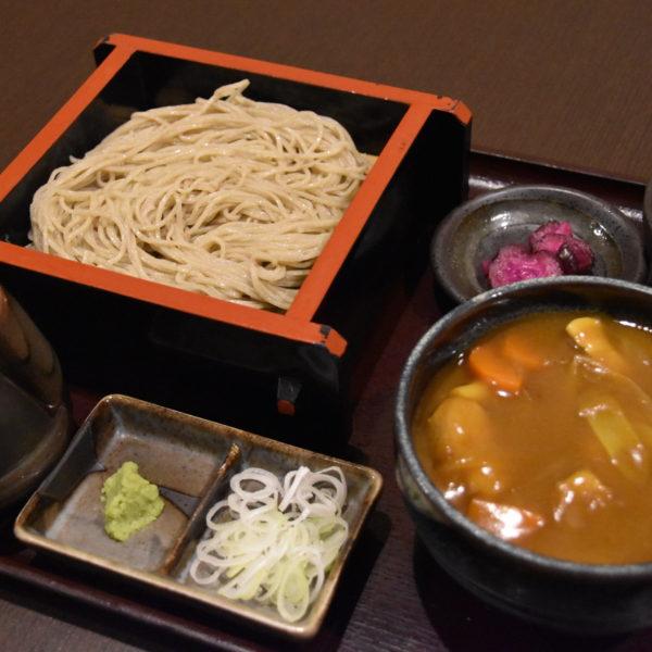 蕎麦とカレー丼セット