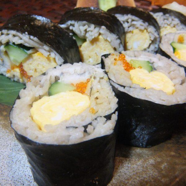 太巻き蕎麦寿司
