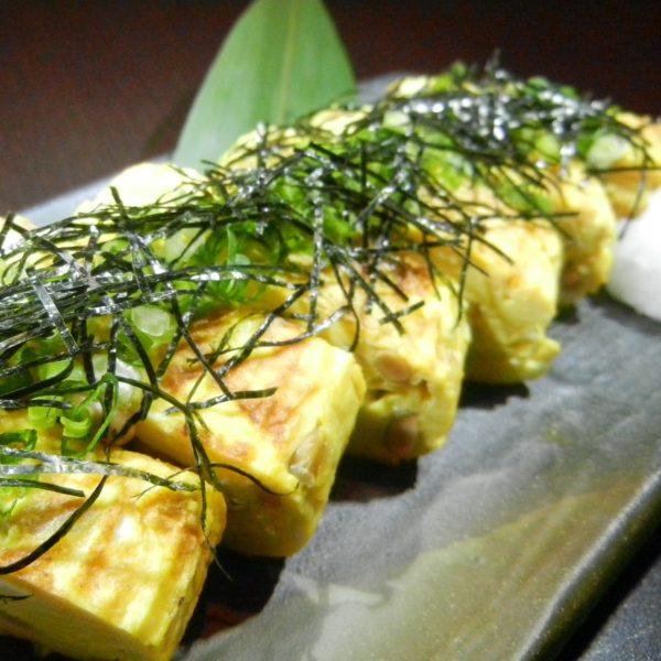 出汁巻き納豆玉子焼き