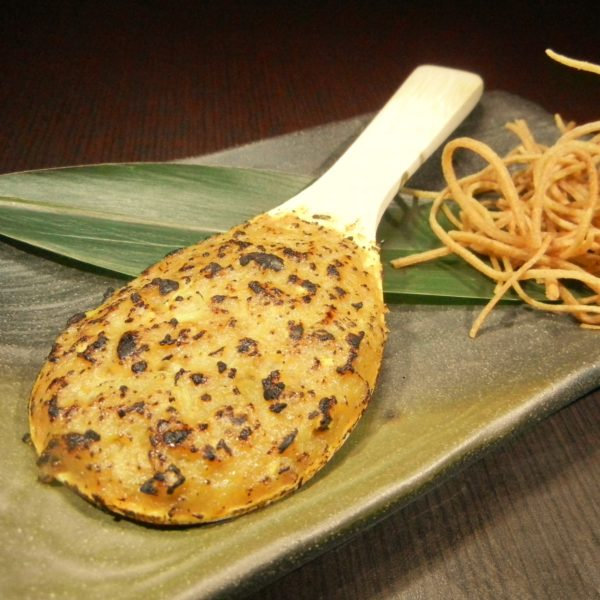 蕎麦味噌焼き