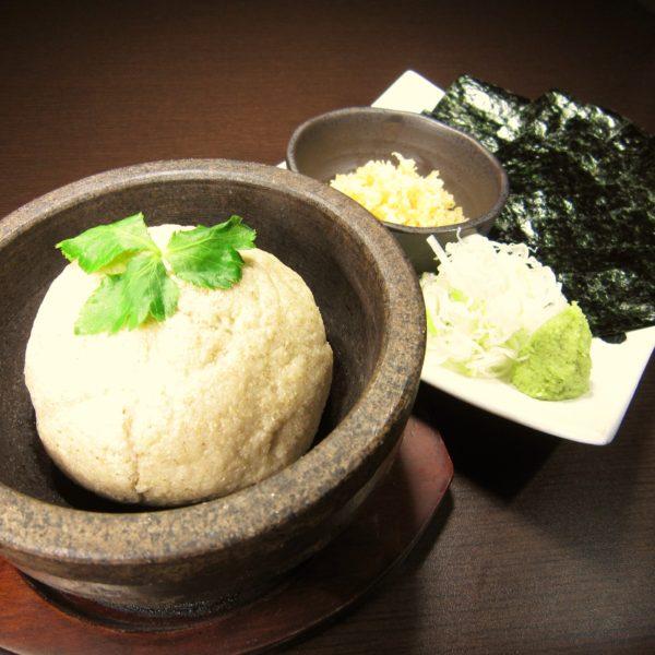 石焼き蕎麦がき